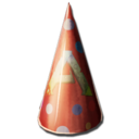 Dino Party Hat Skin