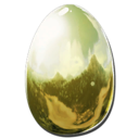 Golden Hesperornis Egg